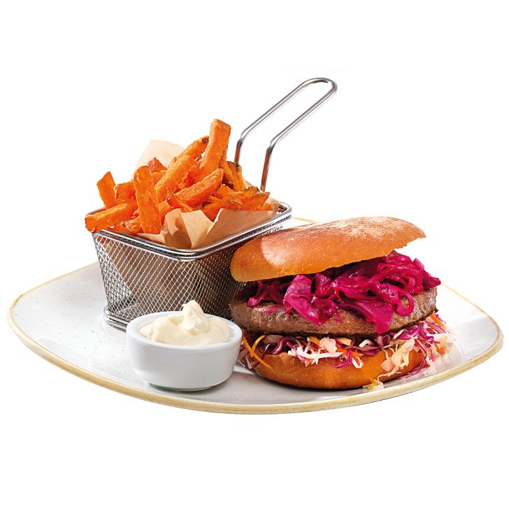 Aļņa gaļas burgers