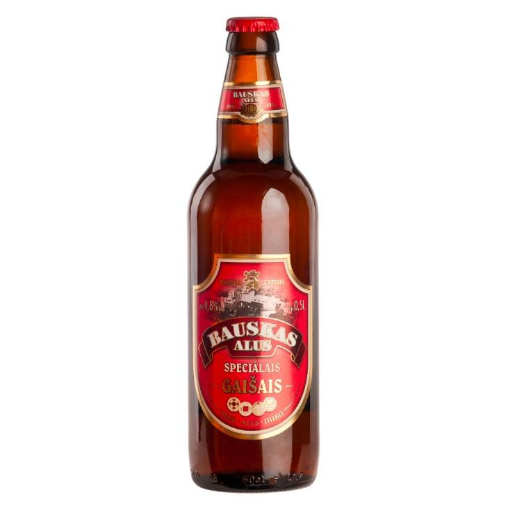 Bauskas light Specialty beer, 4.8%