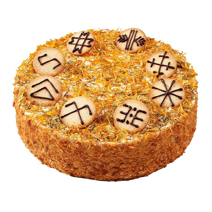 Biezpiena un cidoniju torte