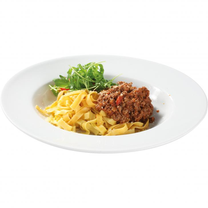 Bolognese with tagliatelle