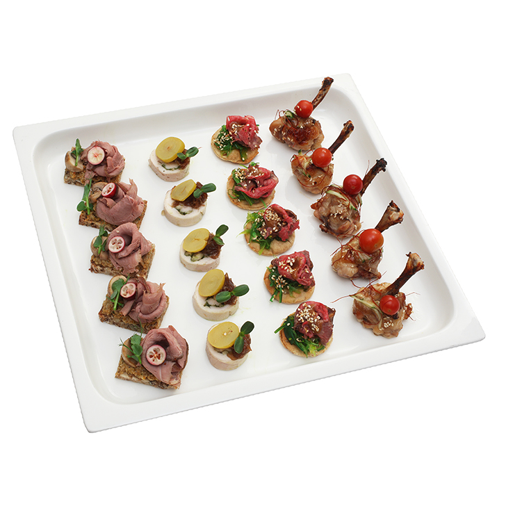 Meat canapes set No.5