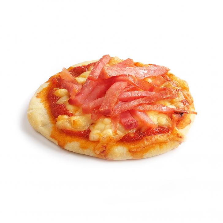 Мини-пицца с ветчиной