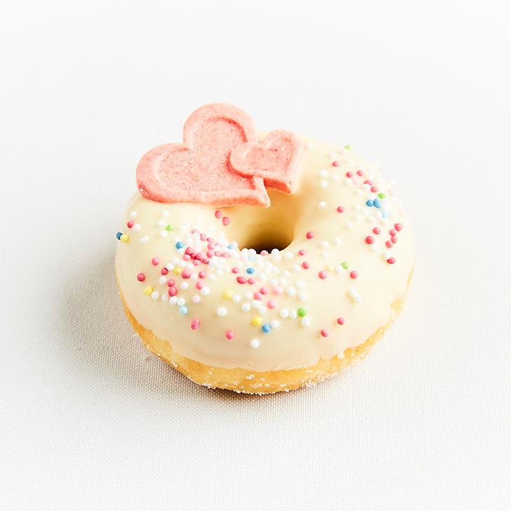 Glazed mini doughnuts, set №3