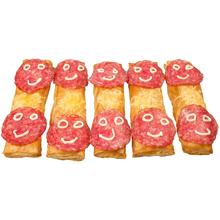 Salami maizītes