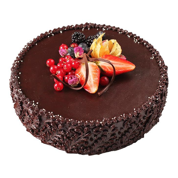 Šokolādes un ruma torte ar ķiršiem                  (gatavošanas laiks var būt ilgāks par 24 h)