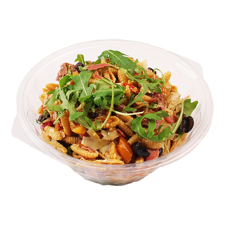 Bran Schupf noodlessalad with vegetables Italian style