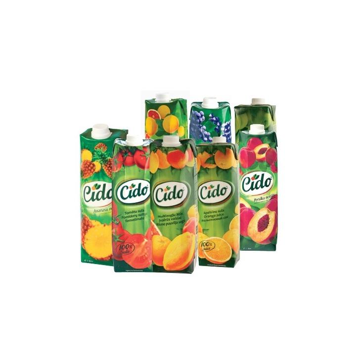 Cido juice 1l tetra pack