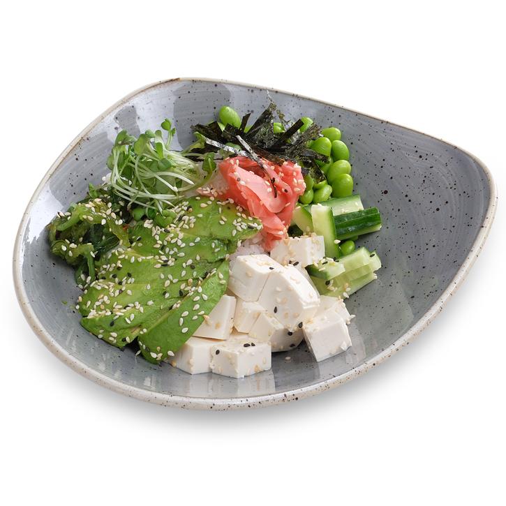 Tofu-veggie Поке Боул