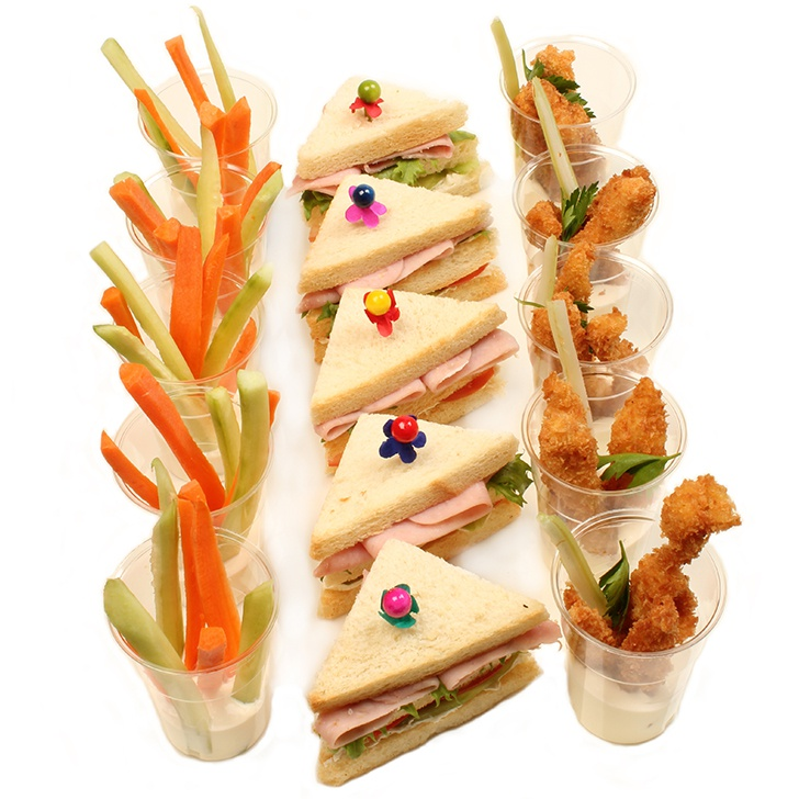 Set of snacks