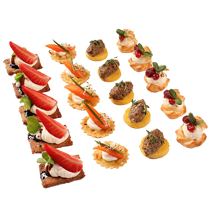 vegetarian canapes set no 6 canape banquets and cakes