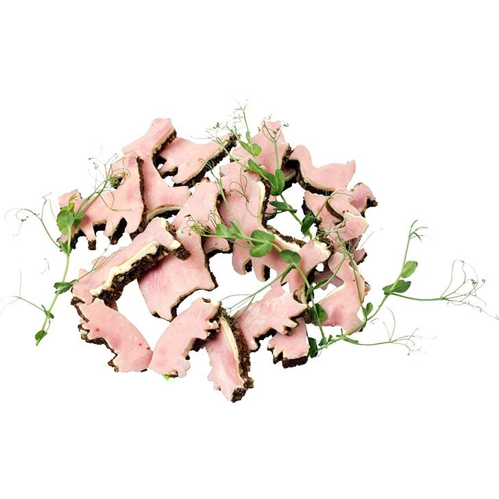 Zvēriņi - šķiņķa siermaizītes