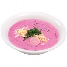 Cold beet soup