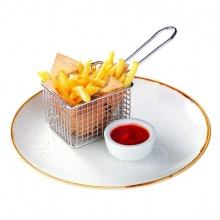 Frī kartupeļi ar kečupu