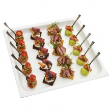 Meat canapes set No.3