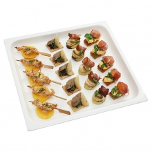 Meat canapes set No.4