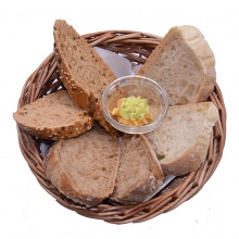 A selection of bread