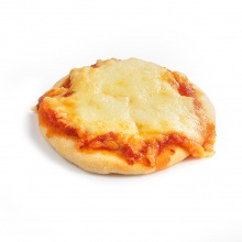 Small pizza with cheese