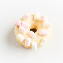 Glazed mini doughnuts, set №1