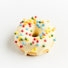 Glazed mini doughnuts, set №2