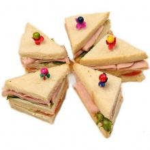 Булочки мини-сэндвичи