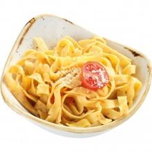 Домашняя лапша с сыром пармезан