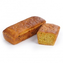 Homemade carrot bread