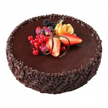 Chocolate Rum Cake with Cherries                    (the cooking time may be longer than 24 h)