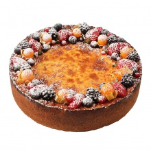 Vairak Saules's Favourite Cheesecake with Fresh Berries