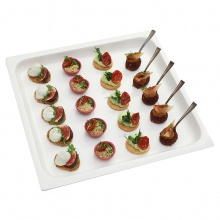 Vegetarian canapes set No.7