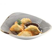 Won-ton vegetarian dumplings