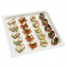 Fish canapes set No.2