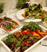 Banquets with various dishes