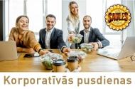 Lasīt vairāk - Korporatīvās pusdienas ar PIEGĀDI!